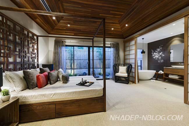Thiết kế biệt thự đẹp theo phong cách Nhật Bản