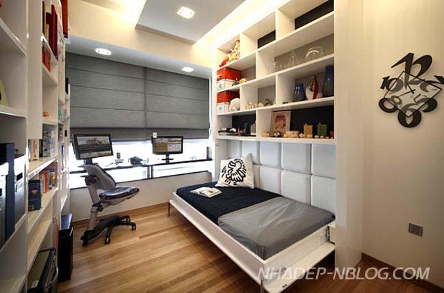 Những thiết kế sáng tạo cho phòng ngủ nhỏ đẹp