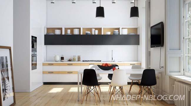 20 thiết kế nhà bếp đẹp mang đậm nét nam tính