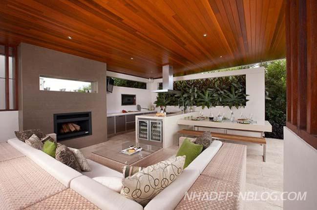 Những không gian đẹp với thiết kế sân vườn hiện đại