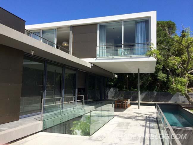 Sự kết hợp hoàn mỹ giữa kiến trúc hiện đại và thiên nhiên