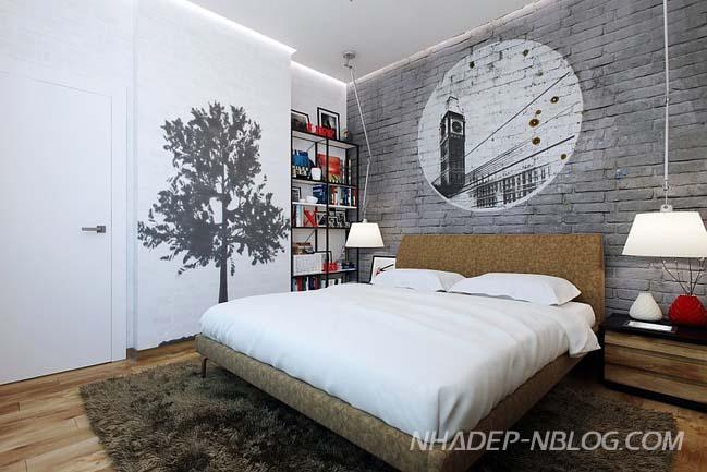 30 mẫu phòng ngủ đẹp với thiết kế nam tính