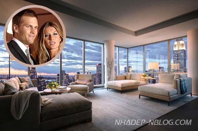 Penthouse sang trọng của Gisele Bundchen và Tom Brady
