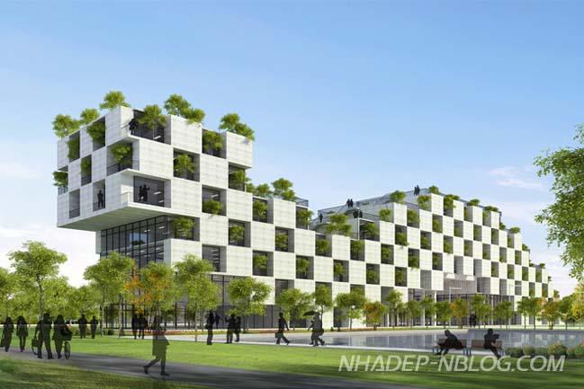 Kiến trúc xanh ấn tượng của Đại Học FPT