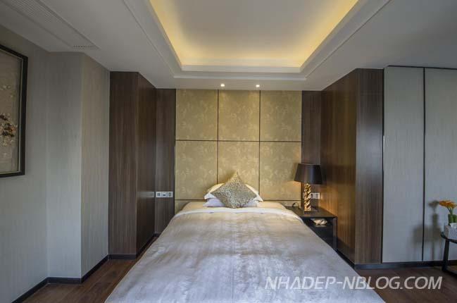 Căn hộ penthouse với không gian thư giãn lộng lẫy