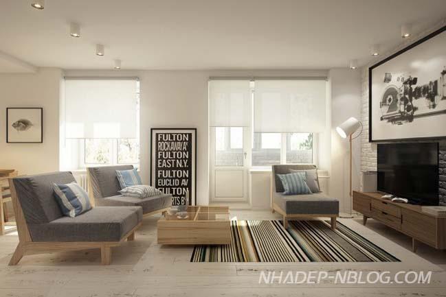 Những thiết kế nội thất chung cư đẹp với diện tích nhỏ