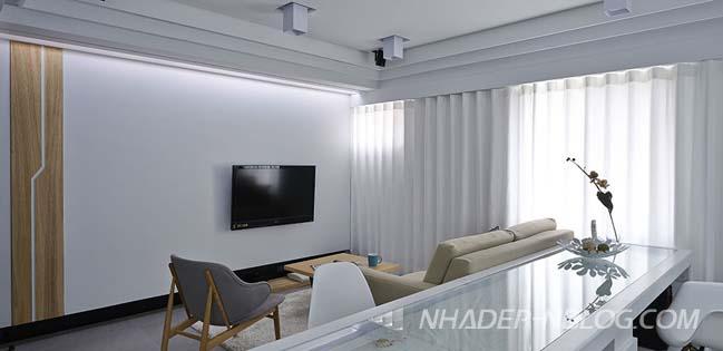 Mẫu nhà đẹp với hệ thống ánh sáng và giải trí hoàn hảo
