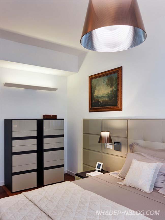 Ngắm căn hộ 3 phòng ngủ với thiết kế trang nhã