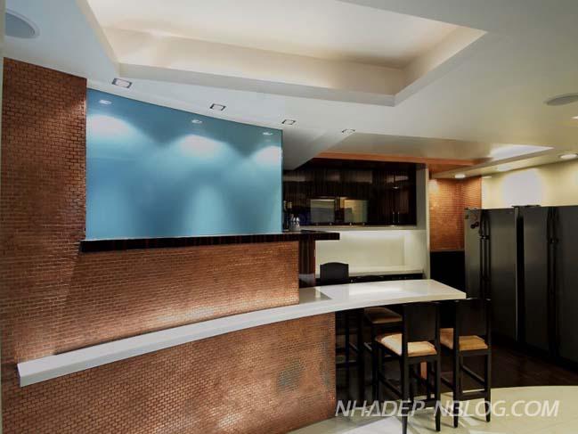 Penthouse sang trọng được kết hợp từ 3 căn hộ cũ