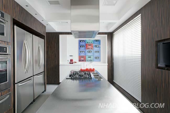 Thiết kế nội thất chung cư với cảnh quang tuyệ đẹp