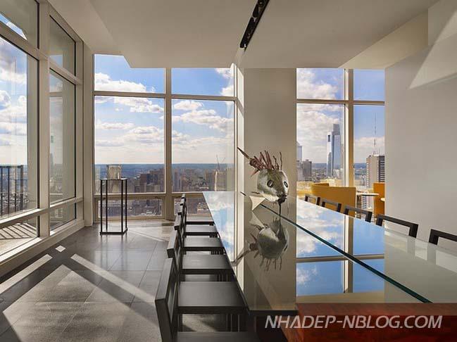 Căn hộ penthouse sang trọng như không gian triển lãm