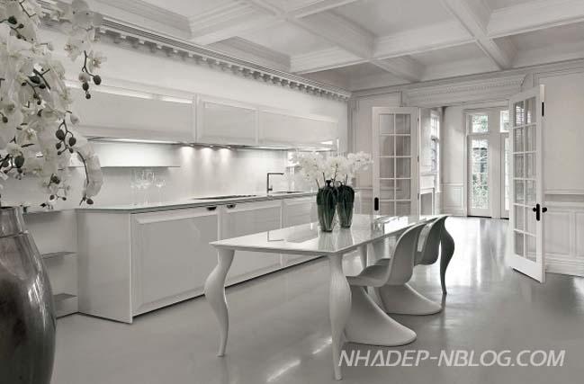 Những mẫu nhà bếp đẹp với thiết kế tối giản