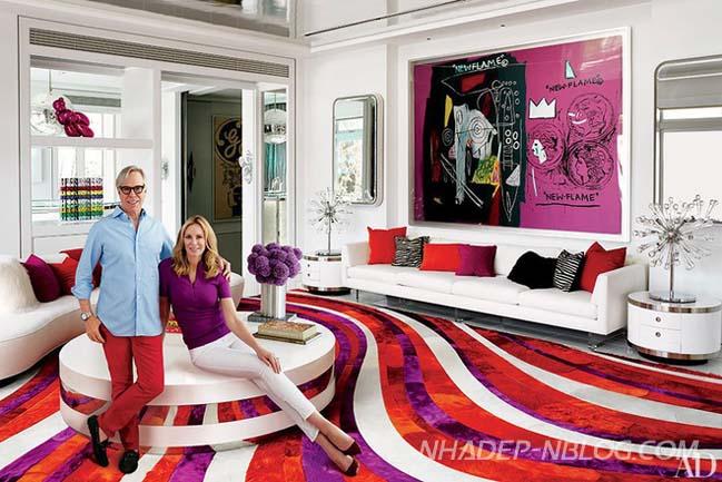Ngắm biệt thự đẹp lộng lẫy của nhà thiết kế Tommy Hilfiger