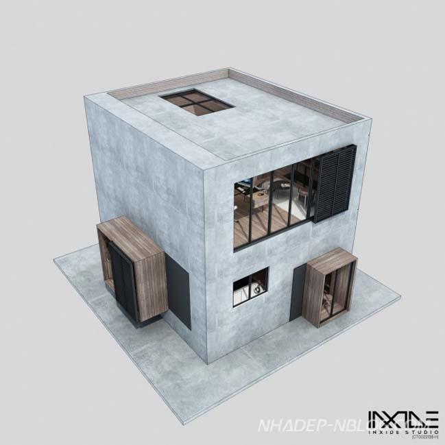 Thiết kế đẹp cho mẫu nhà phố có diện tích nhỏ