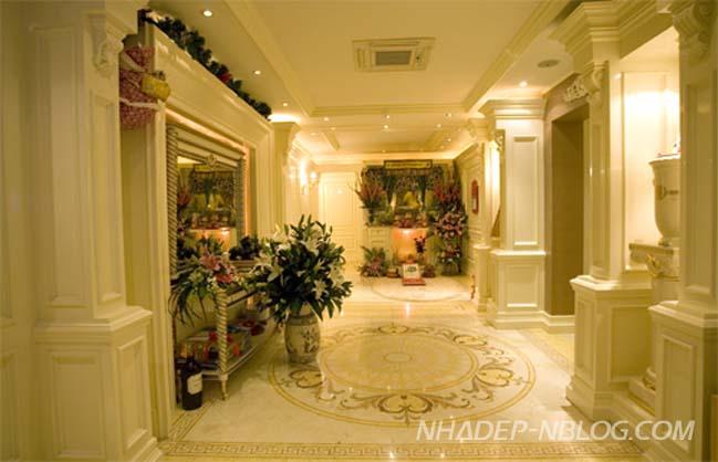 Căn hộ cao cấp với thiết kế nội thất Châu Âu