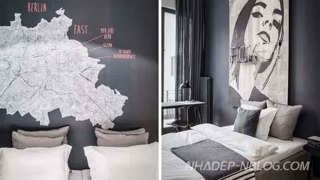 Căn hộ chung cư đẹp với màu xám tro đầy nam tính