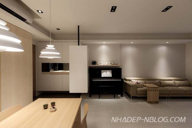 Không gian đẹp với nội thất gỗ mộc mạc