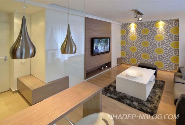 Không gian nhỏ với nội thất ấm cúng