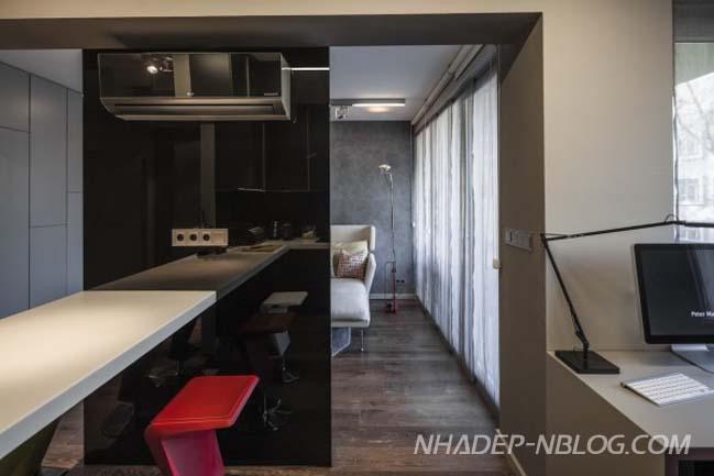 Thiết kế nội thất cho căn hộ chung cư 40m2