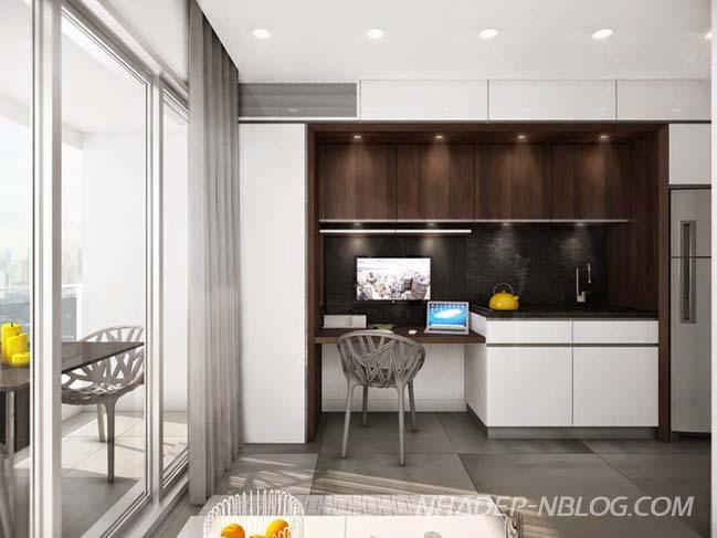 Tối ưu không gian cho căn hộ 19m2