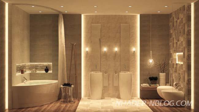 Mãn nhãn với những mẫu phòng tắm cực kỳ sang trọng