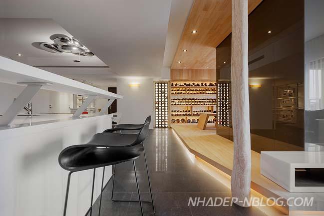 Căn hộ chung cư đẹp với thiết kế vị lai