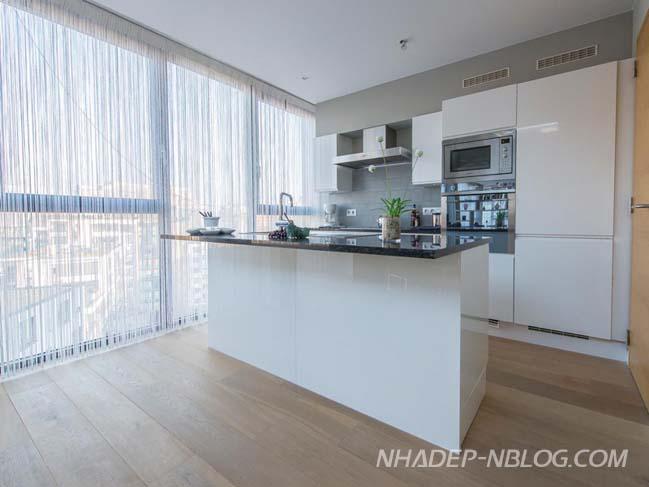 Căn hộ penthouse sang trọng với tông màu trung tính
