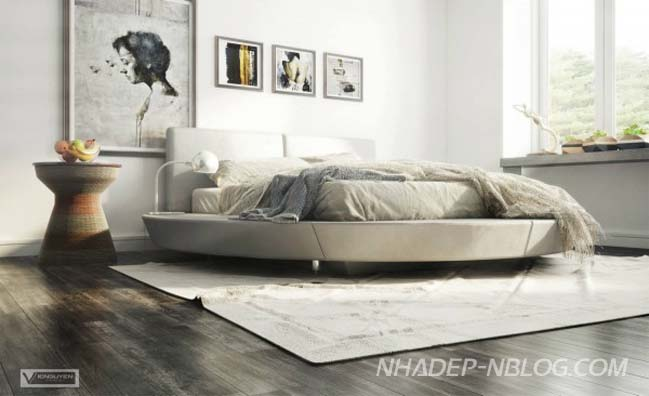 Thiết kế sáng tạo cho phòng ngủ của bạn thêm lộng lẫy