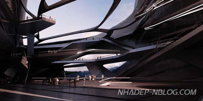 Choáng với siêu phẩm kiến trúc của chàng sinh viên trẻ