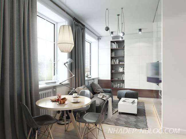 Những mẫu nhà nhỏ đẹp sang trọng như penthouse
