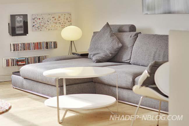 Căn hộ áp mái với thiết kế Scandinavian tinh tế