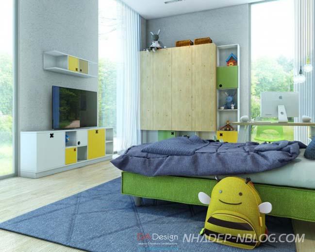 Bộ sưu tập đầy màu sắc cho phòng ngủ đẹp của bé