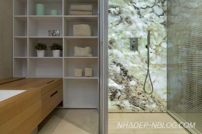 Căn hộ chung cư đẹp với tông màu trắng trang nhã