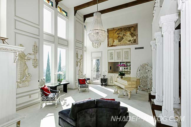 Thiết kế biệt thự đẹp với kiến trúc tân cổ điển sang trọng