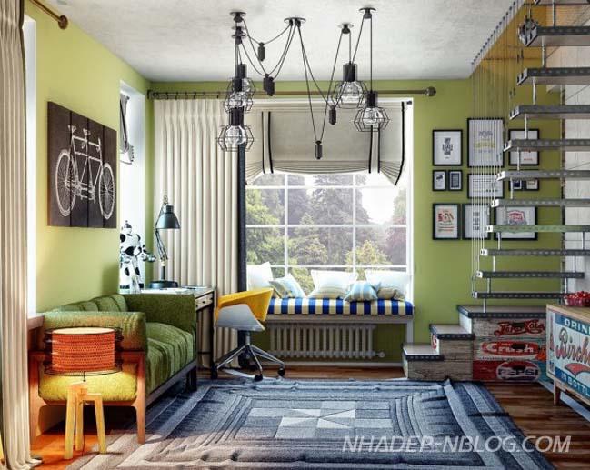 Những thiết kế nội thất đẹp cho không gian riêng của trẻ