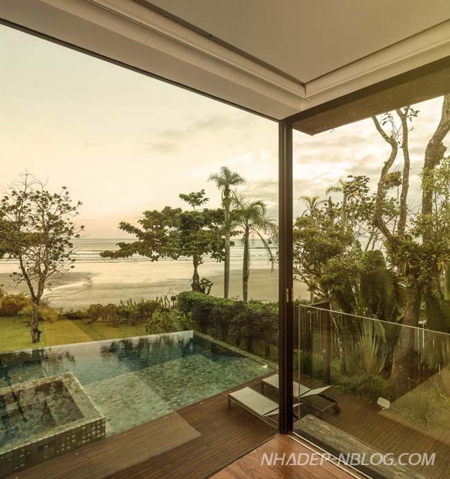 Biệt thự đẹp hòa mình với thiên nhiên và cảnh biển