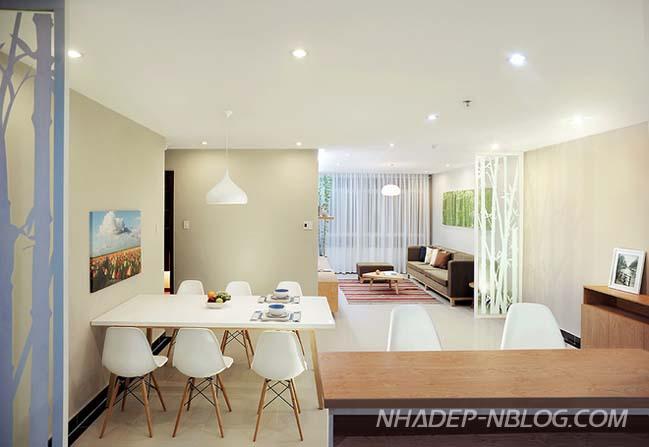 Làm mới căn hộ chung cư 100m2