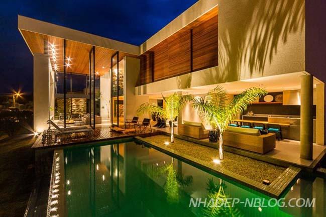Biệt thự đẹp với không gian mở hòa mình với thiên nhiên