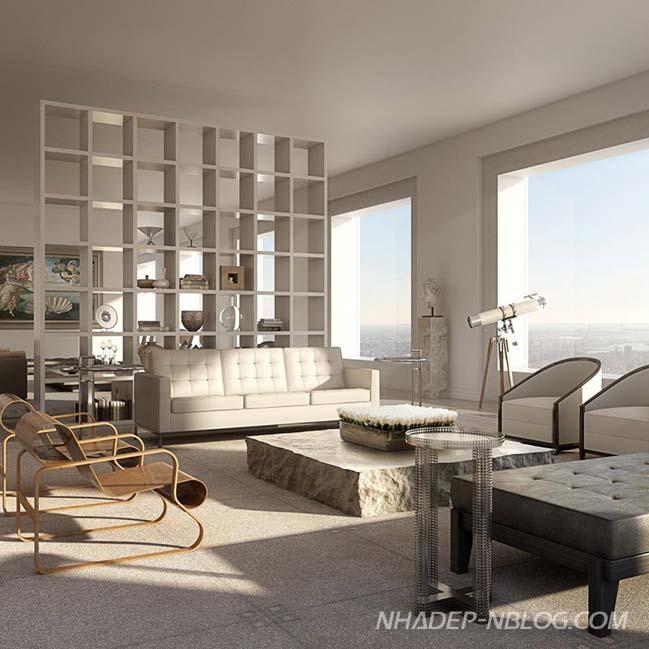 Ngắm căn hộ penthouse ngàn tỷ tại New York