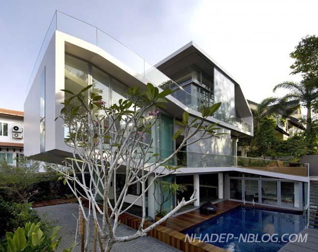 Thiết kế biệt thự đẹp hiện đại cho gia đình 3 thế hệ