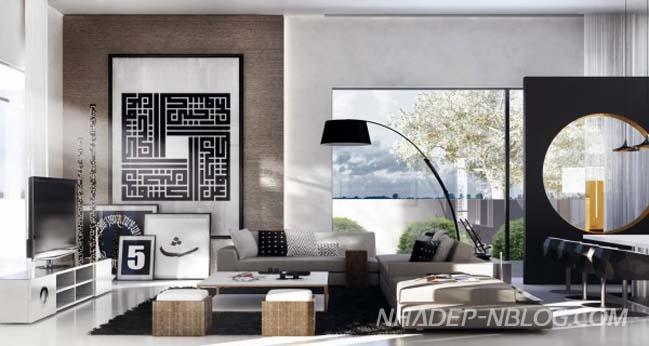 26 mẫu phòng khách đẹp phong cách hiện đại