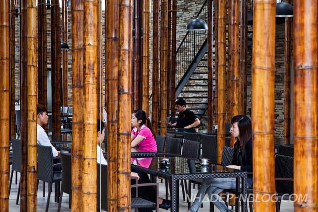 Kiến trúc nhà hàng tre độc đáo của Võ Trọng Nghĩa