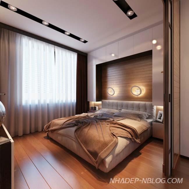 Căn hộ 1 phòng ngủ ấm cúng và sang trọng