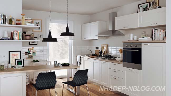 11 mẫu nhà bếp đẹp với không gian mở đa năng