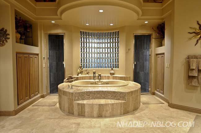 12 mẫu phòng tắm với thiết kế sang trọng