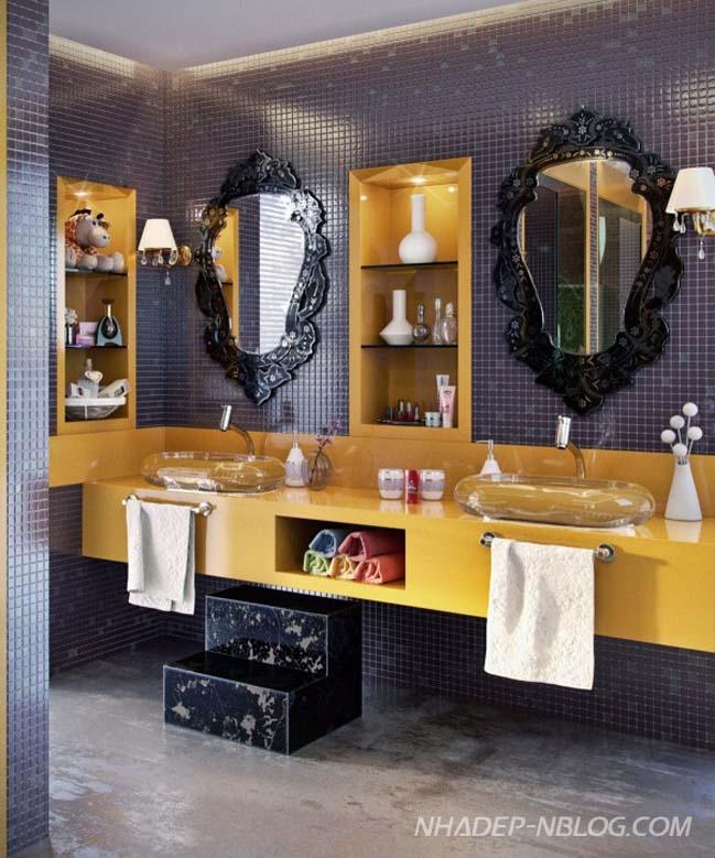 Mãn nhãn với những thiết kế phòng tắm siêu sang