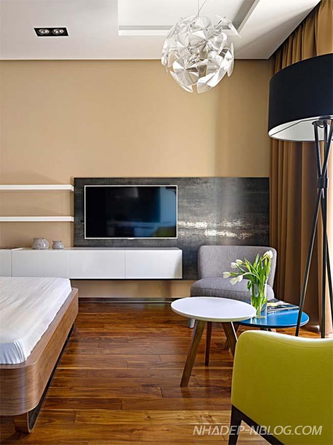 Căn hộ chung cư 34m2 với thiết kế sang trọng