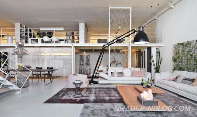 Không gian sáng tạo cho nhà đẹp gác lửng