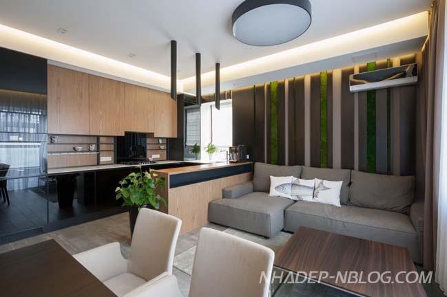 Bố trí cây xanh cho căn hộ chung cư thêm sức sống