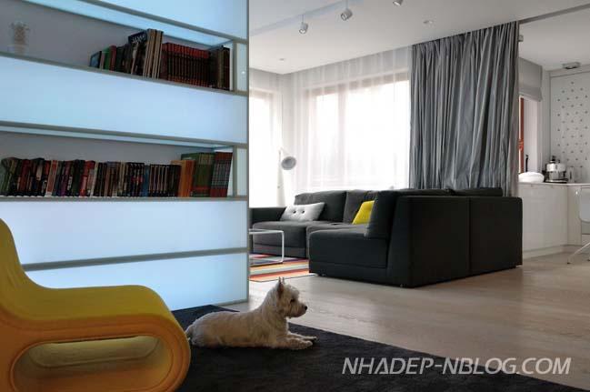 Không gian hiện đại và sang trọng của căn hộ 90m2